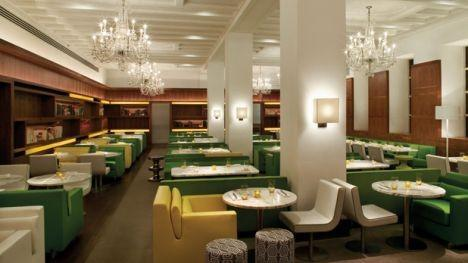 "This Philadelphia steakhouse is described as ""luxury boutique"". Despite its modern design and decor Barclay's has a menu full of classic-style steaks."