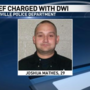 Police chief faces DWI charge