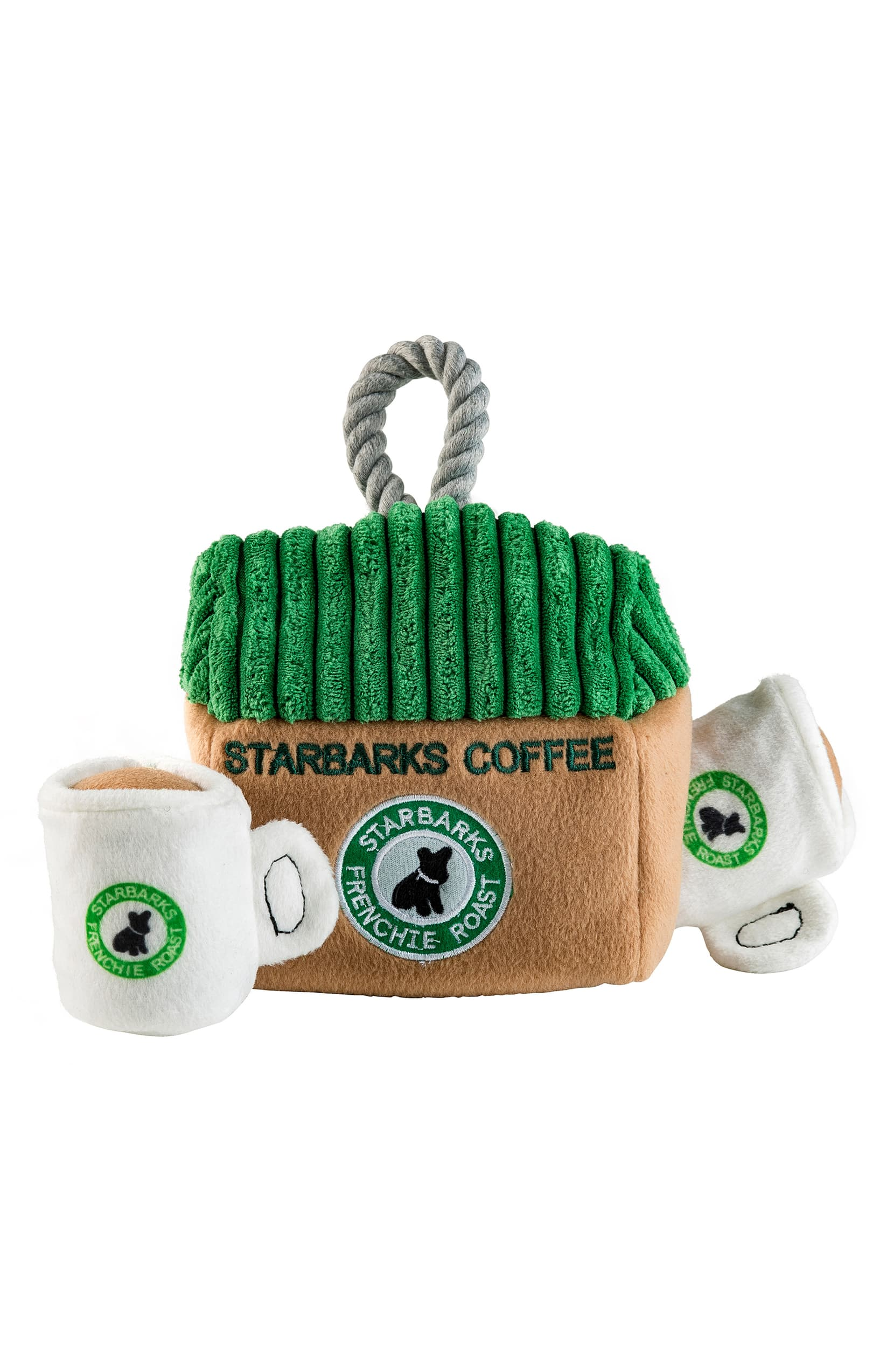 "<a  href=""https://shop.nordstrom.com/s/haute-diggity-dog-starbarks-coffee-house-dog-toy/5373834?origin=keywordsearch-personalizedsort&breadcrumb=Home%2FAll%20Results&color=green%20multi"" target=""_blank"" title=""https://shop.nordstrom.com/s/haute-diggity-dog-starbarks-coffee-house-dog-toy/5373834?origin=keywordsearch-personalizedsort&breadcrumb=Home%2FAll%20Results&color=green%20multi"">Starbarks Coffee House Dog Toy by HAUTE DIGGITY DOG ($25.95)</a>{&nbsp;}Doghouse meets coffee house with an interactive hide-and-seek Starbarks complete with two Frenchie Roast mugs for Fido's playtime caffeine fix. (Image: Nordstrom)"