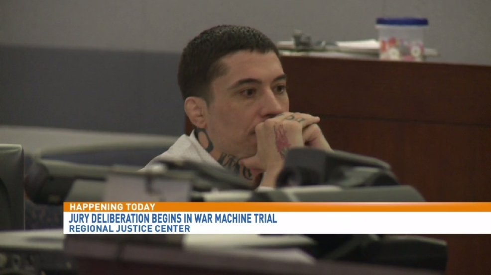 war machine trial las vegas