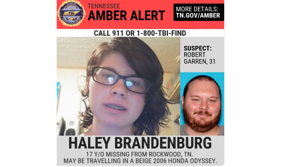 Van in statewide Tennessee Amber Alert found abandoned, teen
