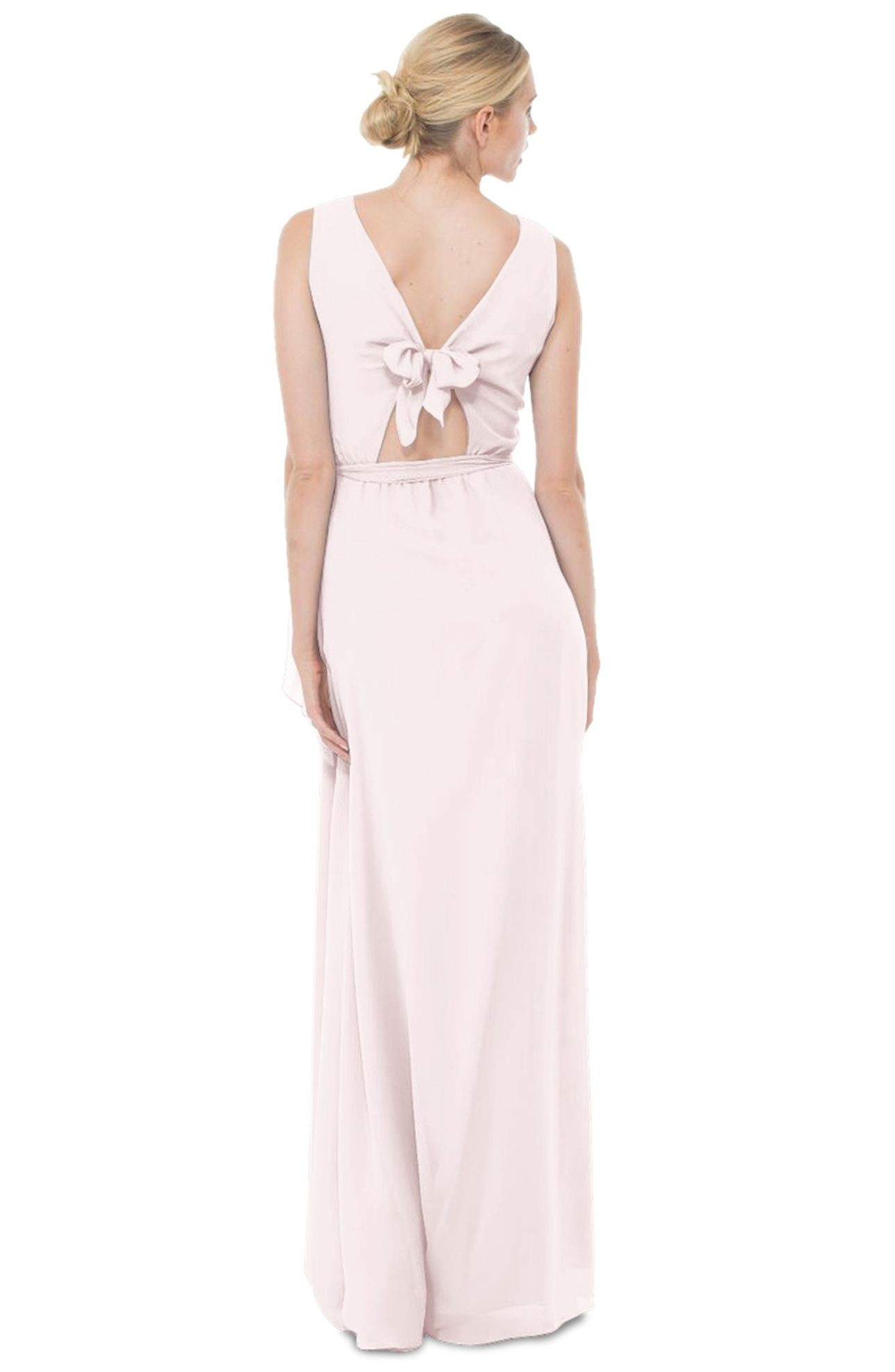 Ceremony by Joanna August, 'Tina' Tie Back Chiffon Gown - $285.00. (Image: Nordstrom)
