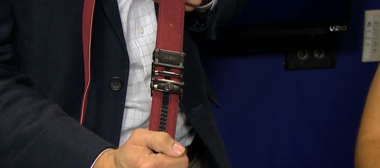 Tech Report: Holiday Belts. (Photo: KUTV)