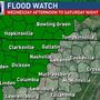 Flood Watch in effect for middle Tennessee for two rounds of rain