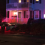 Car crashes into a house in Taunton