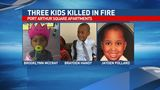 Mother of 3 children killed in fire remembers her sons, daughter