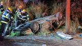 Police: Eugene woman died after crashing into ditch near Eagle Creek