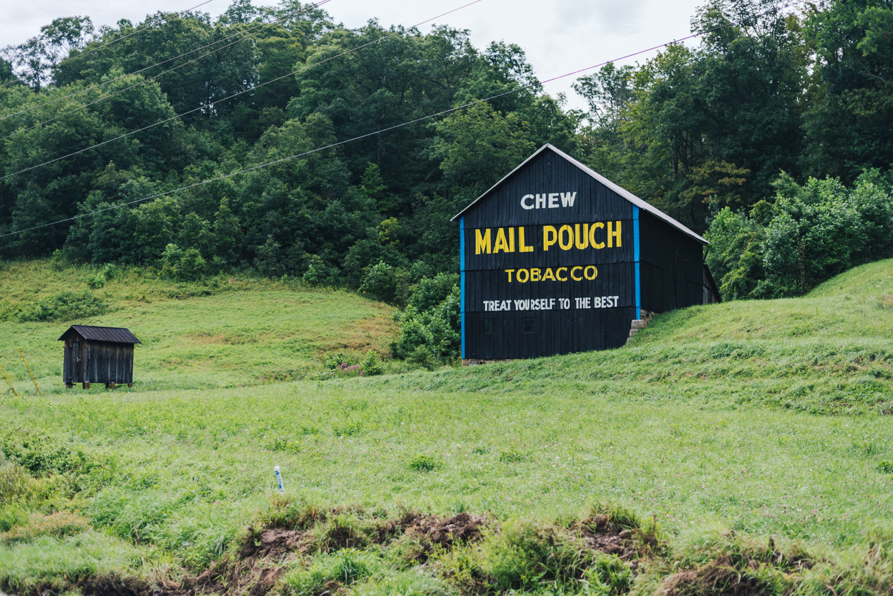 PICTURED: Mail Pouch Tobacco Barn  / Founded the same year as Cincinnati on the opposite side of the state, Marietta is a city that sits at the junction of the Ohio and Muskingum Rivers in Washington County. Much like Cincinnati, the town boasts many shops, restaurants, art, and historic buildings. Marietta is 200 miles east of Cincy. / Image: Mike Menke // Published: 8.23.17
