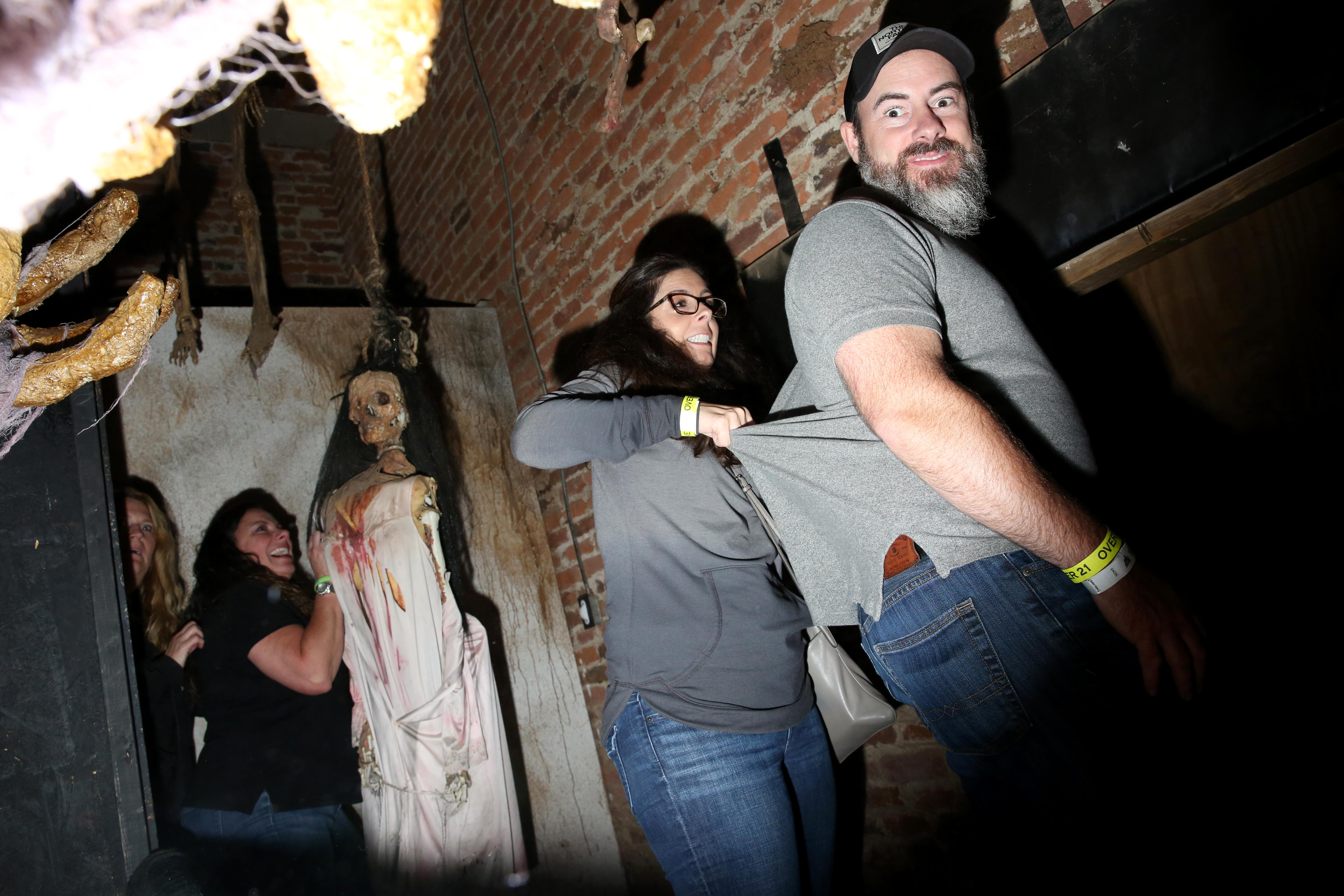 There's nothing like a good scare to get you in the mood for Halloween and Shocktober, a haunted house in Leesburg, VA, can definitely deliver. However, even if jump scares aren't for you, watching people get scared is hilarious - here's what it looks like when things go bump in the night. (Amanda Andrade-Rhoades/DC Refined)