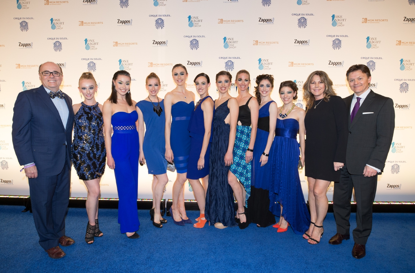 Nevada Ballet Theatre at One Night for One Drop 2017. (Photo courtesy of Erik Kabik/ErikKabik.com)