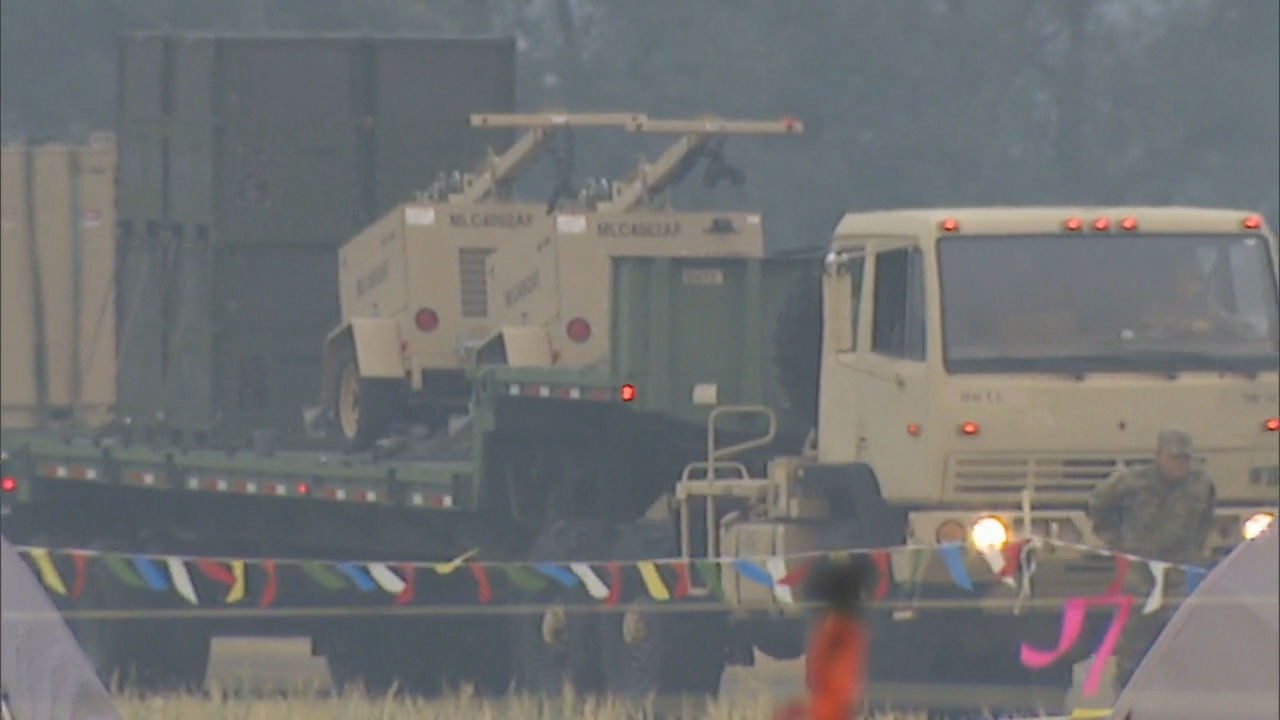 About 128 National Guard soldiers rolled in on Wednesday with day-sleeping barracks for the night shift crews, security personnel and more resources to help fire fighters battling the Jolly Mountain Fire. (Photo: KOMO NewS)
