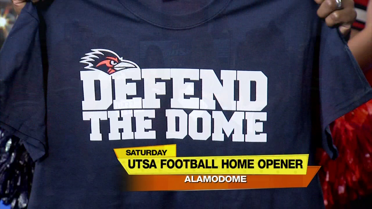 Birds up! UTSA Road Runners 'Defend the Dome'