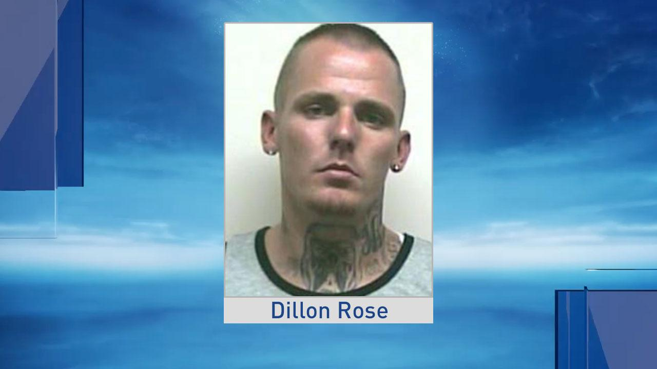 Dillon Rose is considered a person of interest in the murder. (Tulsa Police Department)