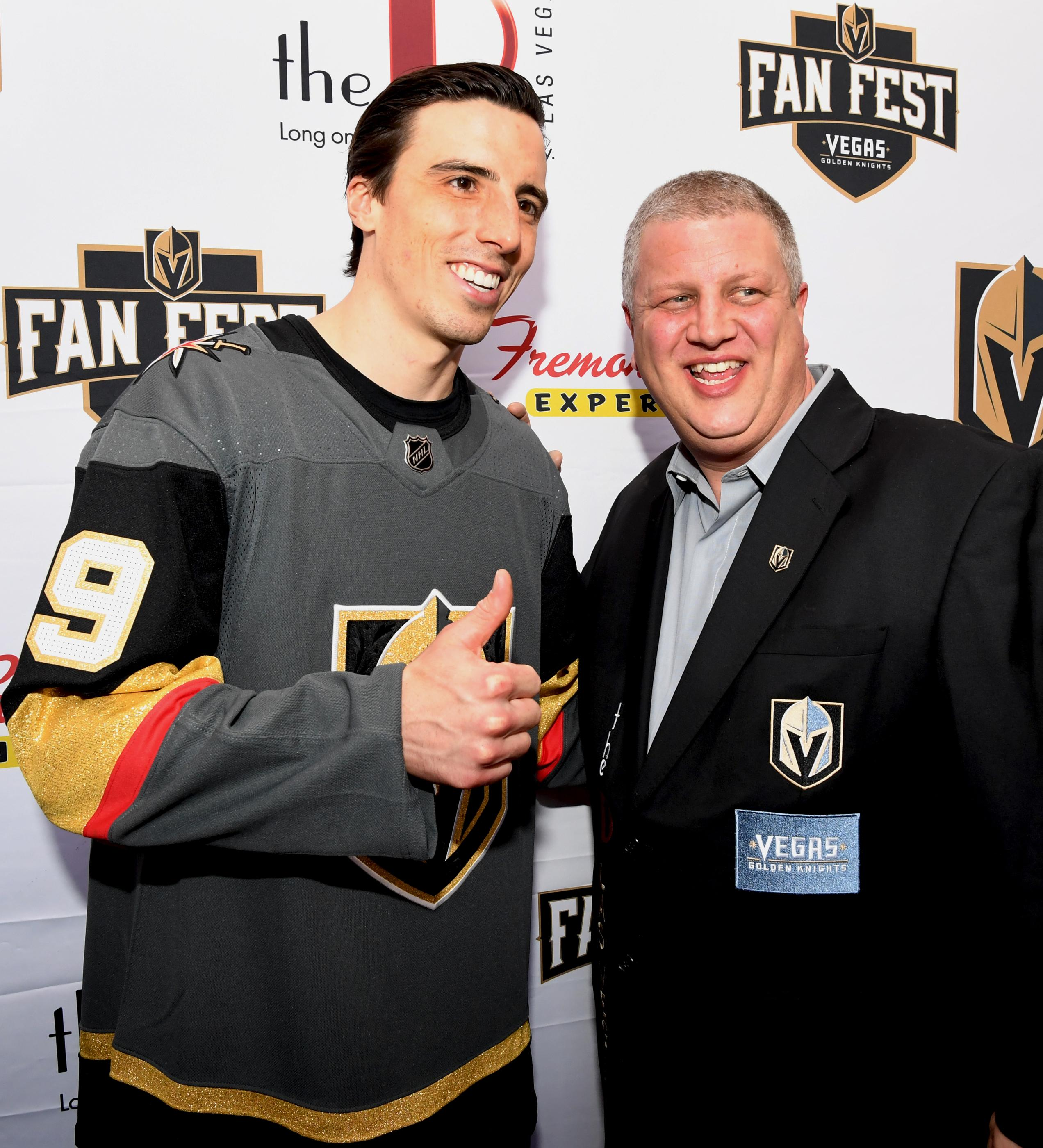 The Golden Knights host a Fan Fest with the D Las Vegas and Fremont Street Experience. Sunday, January 14, 2017. CREDIT: Glenn Pinkerton/Las Vegas News Bureau