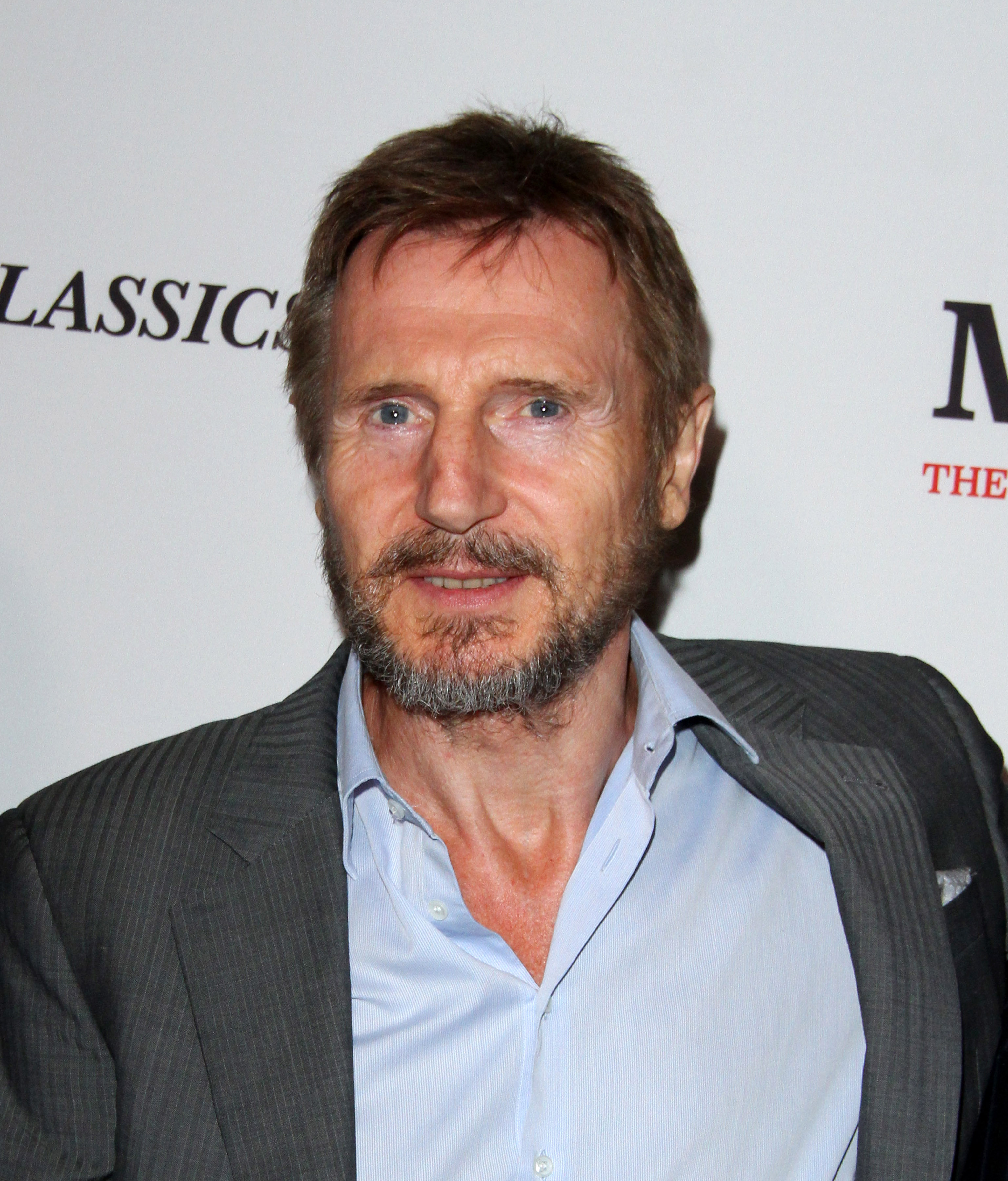 'Mark Felt: The Man Who Brought Down The White House' Los Angeles Premiere held at the Writers Guild Theatre in Beverly Hills - Arrivals  Featuring: Liam Neeson Where: Los Angeles, California, United States When: 27 Sep 2017 Credit: Adriana M. Barraza/WENN.com