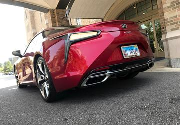 2018 Lexus LC 500: The car that wasn't supposed to exist