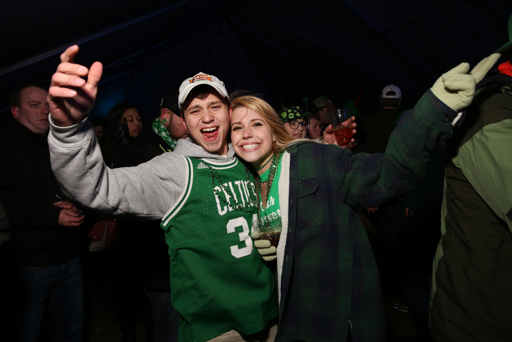 If you didn't get to bust out your green gear this St. Patrick's Day, you can put it to good use at ShamrockFest. The beer will be flowing and you can jam out to live music and DJs at this wild party at RFK Stadium. Tickets start at $25.{ } (Amanda Andrade-Rhoades/DC Refined)