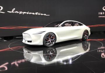 Infiniti's new electrified platform will underpin almost entire range