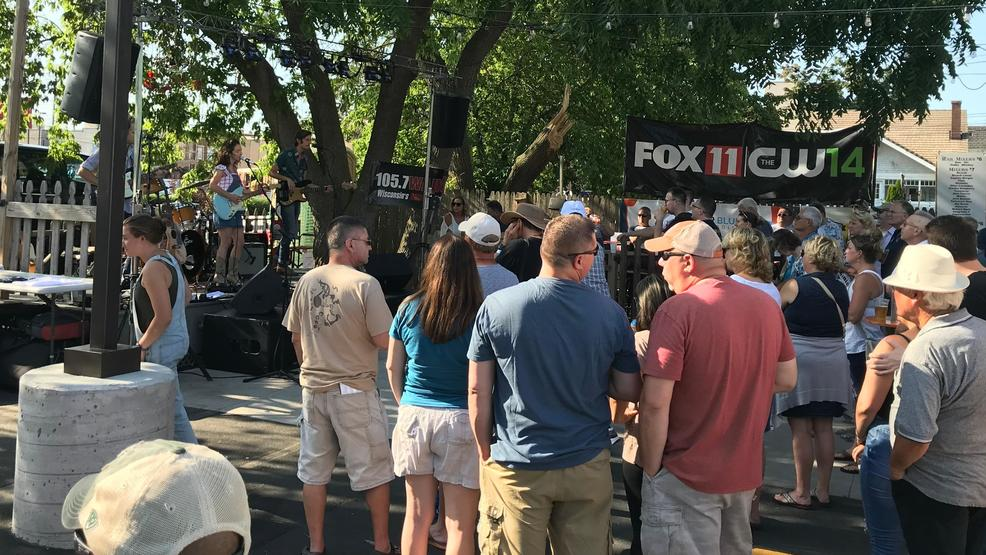 Michaela Anne performs on the FOX 11 stage at Fox River House during Mile of Music in downtown Appleton Aug. 1, 2019.