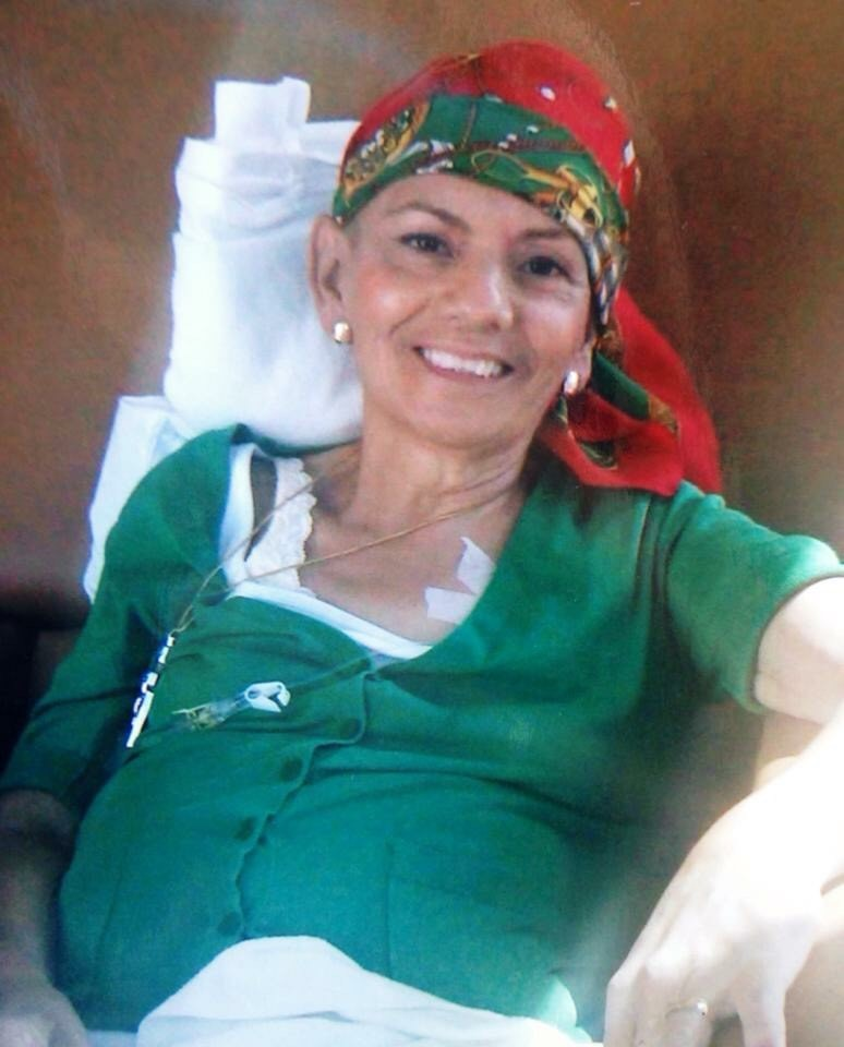 Rafaela, Abraham's mother, lost her life to breast cancer when Abraham was 10 years old. (Photo courtesy Daisy Castaneda)