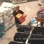 Caught on camera: Brazen shoe theft
