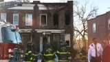 Crews extinguish fire in north Baltimore, find body