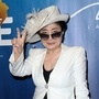 Yoko Ono, a co-producer on 'Imagine,' gets writing credit