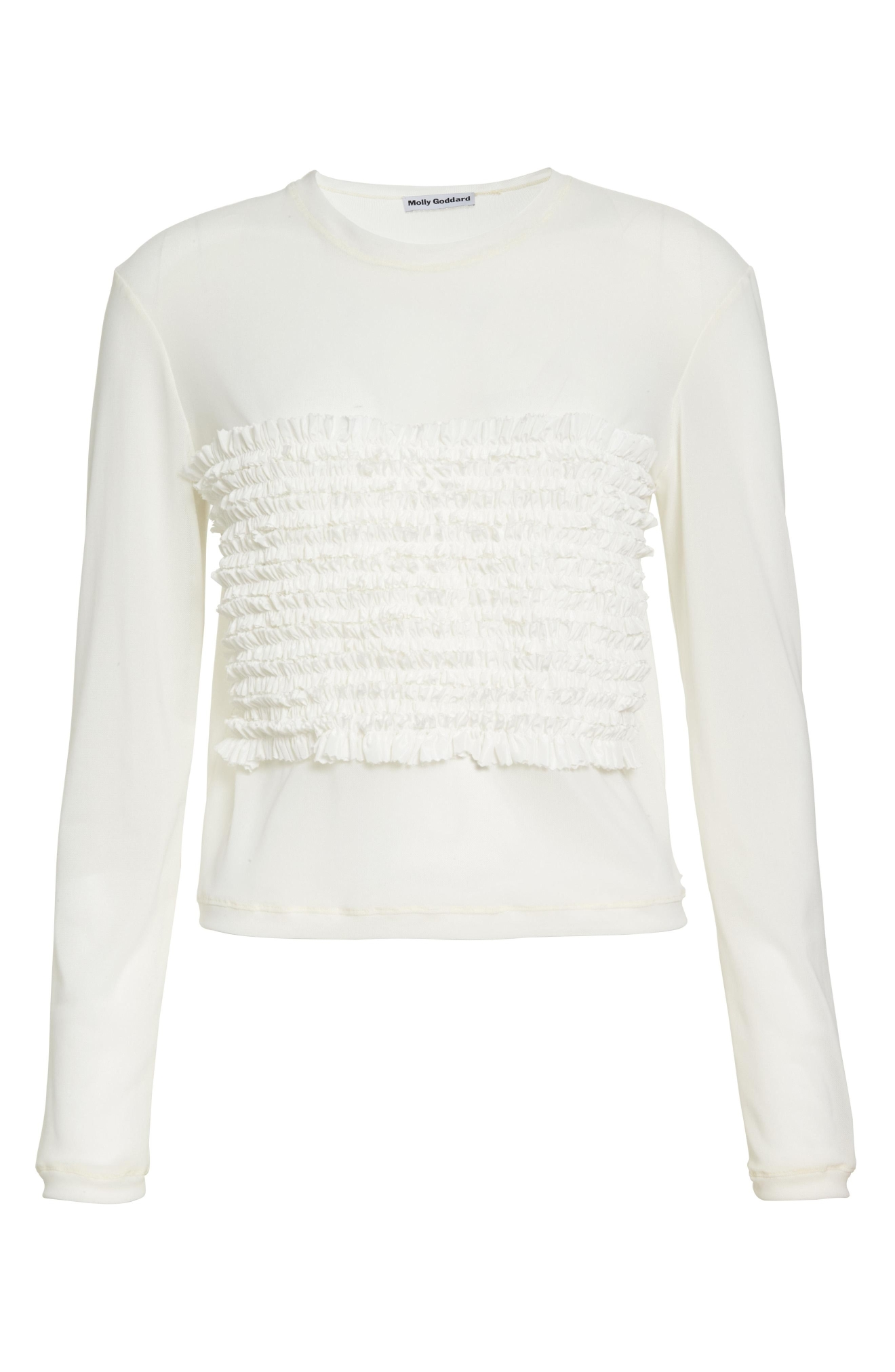 Molly Goddard T-Shirt with Taffeta Frills - $295. Get it at nordstrom.com/space. (Image: Nordstrom)