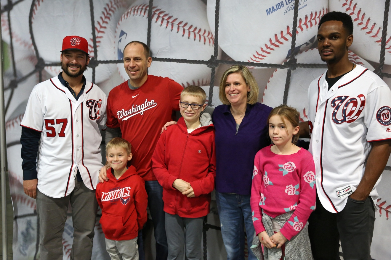 The Nats may not have been world champions, but diehard fans flocked to the Washington Convention Center this weekend to meet some of their favorite players, practice their pitches and indulge in some winter fun. (Amanda Andrade-Rhoades/DC Refined)