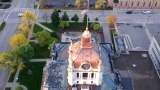 SKYFOX tours downtown Green Bay