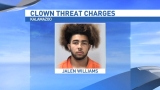 Teen accused of clown threat headed to trial