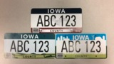 Designer defends options for new Iowa vehicle license plates