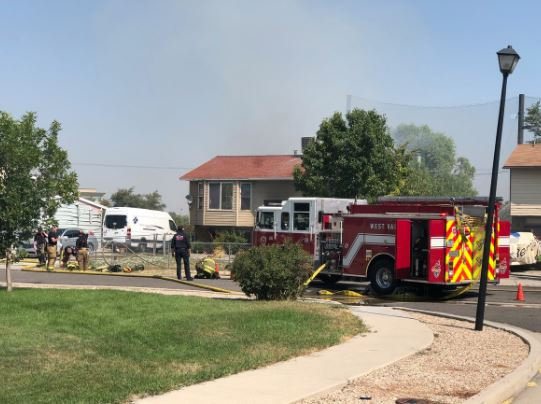Police are responding to a shooting and house fire in West Valley City. (Photo courtesy of West Valley City Police Department)
