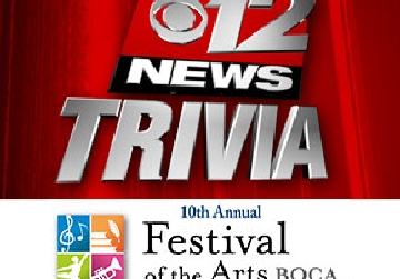 Festival of the Arts Trivia Contest