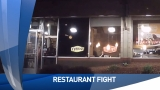Fight at local restaurant caught on video
