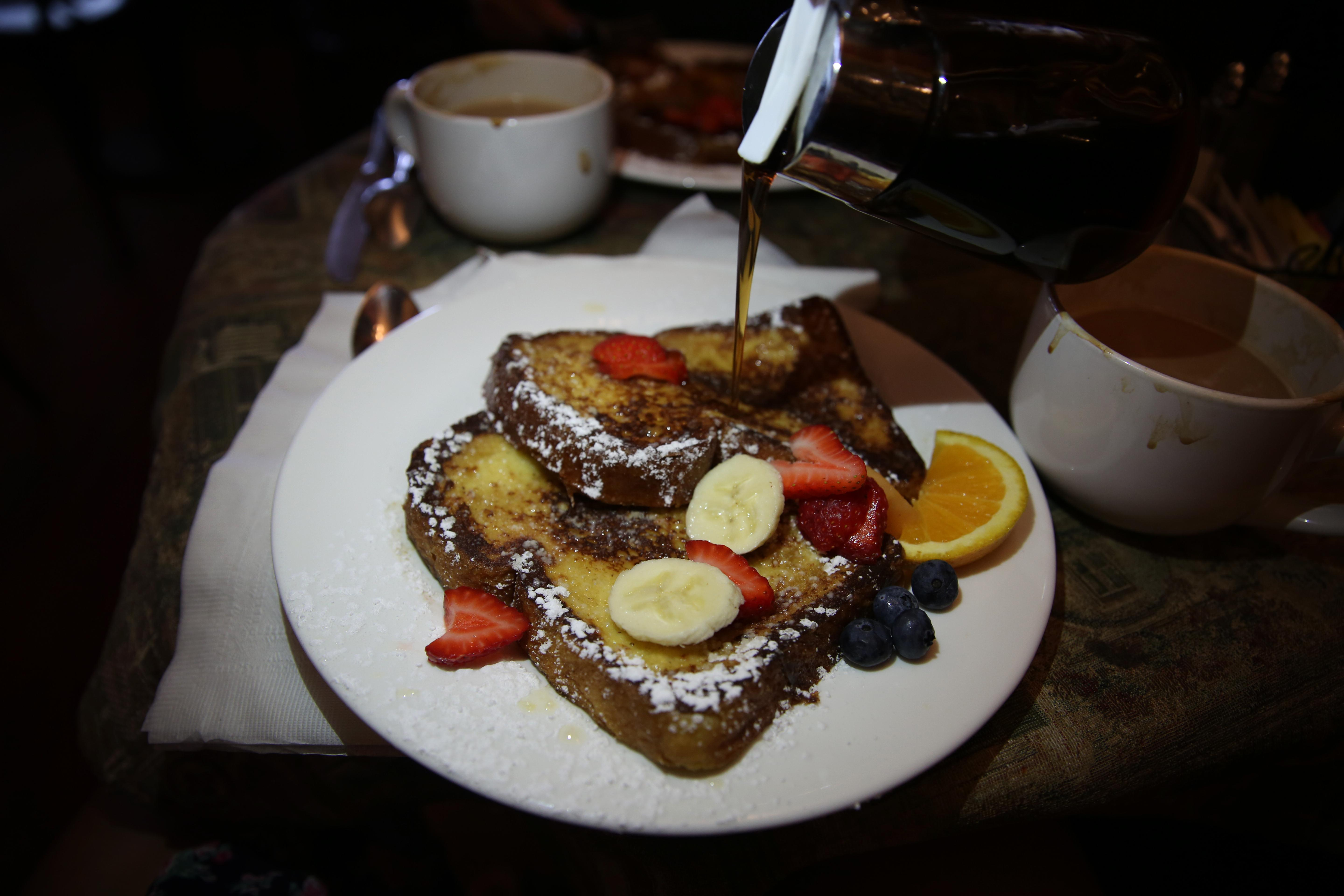 French Toast at Cape Charles Coffee House (Amanda Andrade-Rhoades/DC Refined)