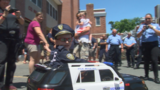 First responders give 5-year-old a special birthday
