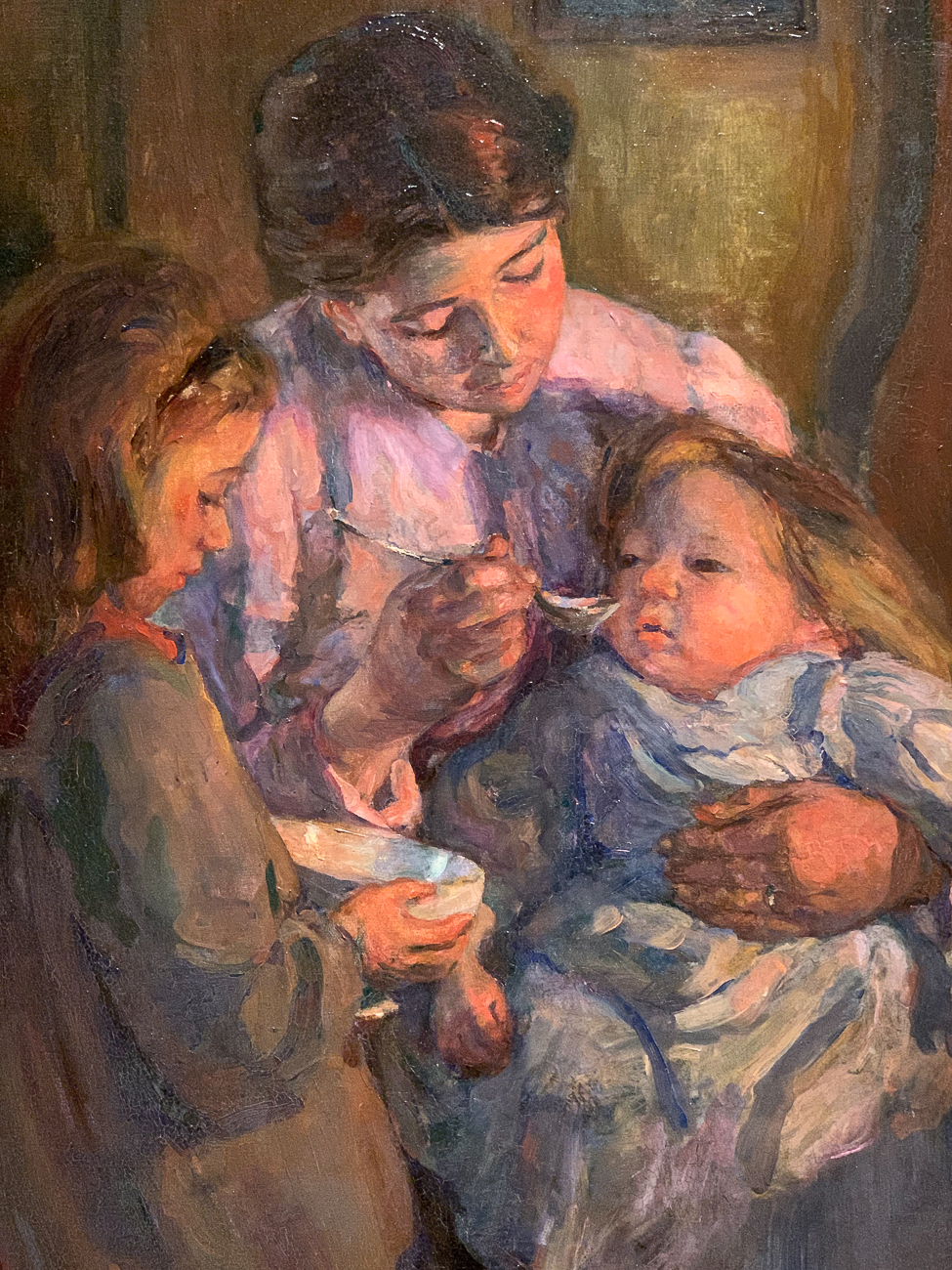 Painting by Elizabeth Nourse, 1907 / Image: Phil Armstrong, Cincinnati Refined // Published: 10.4.20
