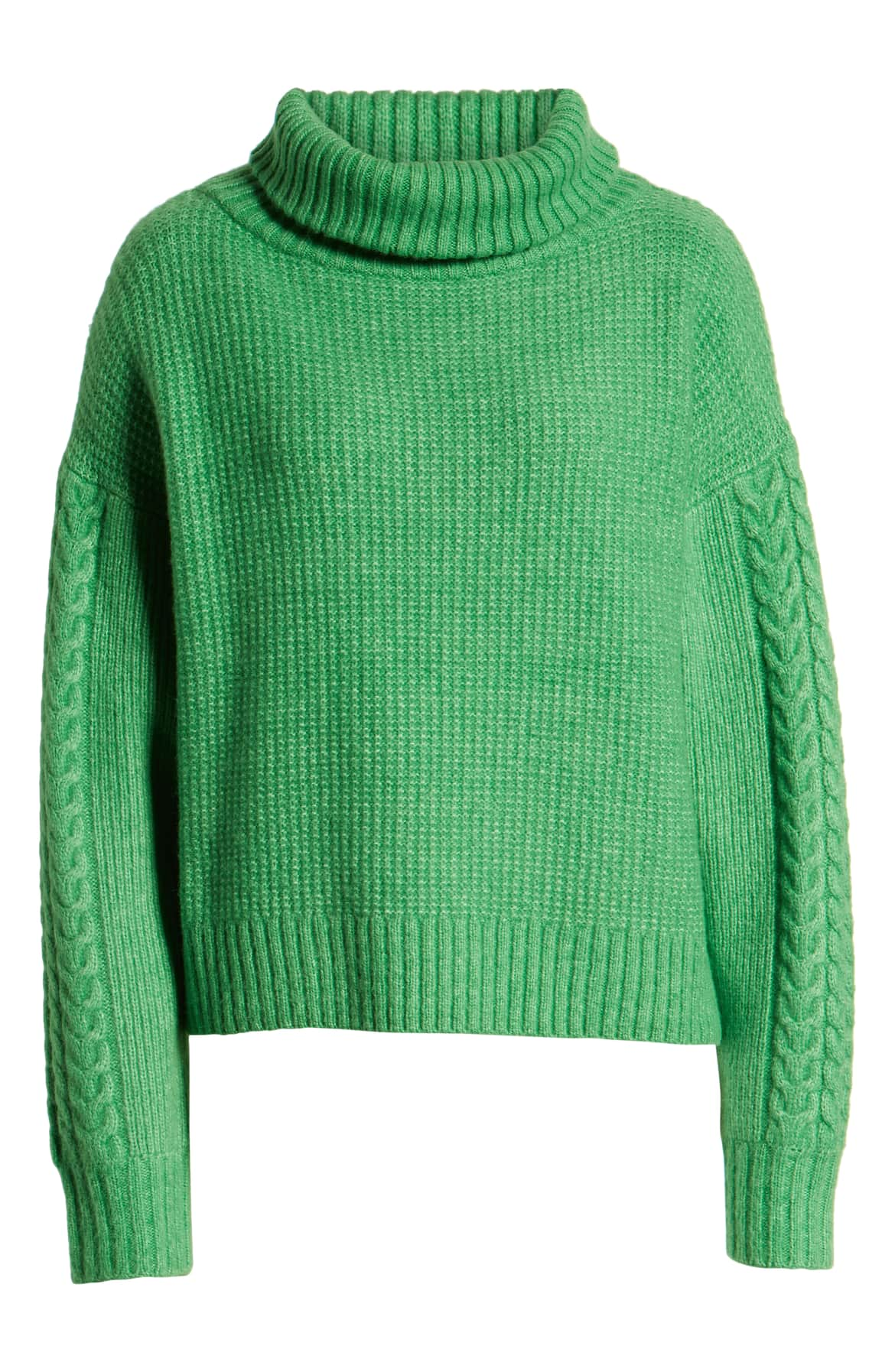 Every closet needs a trusty turtleneck, and this one is full of cozy warmth and tactile charm. $53.40 (Image: Nordstrom){ }