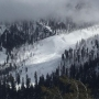 Official reports avalanche stops just short of Kyle Canyon's Rainbow Subdivision