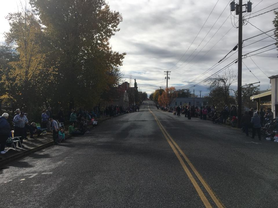 Images from the 2017 Douglas County Veterans Day Parade in downtown Roseburg, Ore., November 11, 2017. (courtesy John McDonald)<p></p>