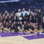 Clovis West Girls Basketball Team wins state championship