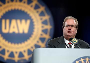 UAW chief raises strike pay, issues warning to automakers