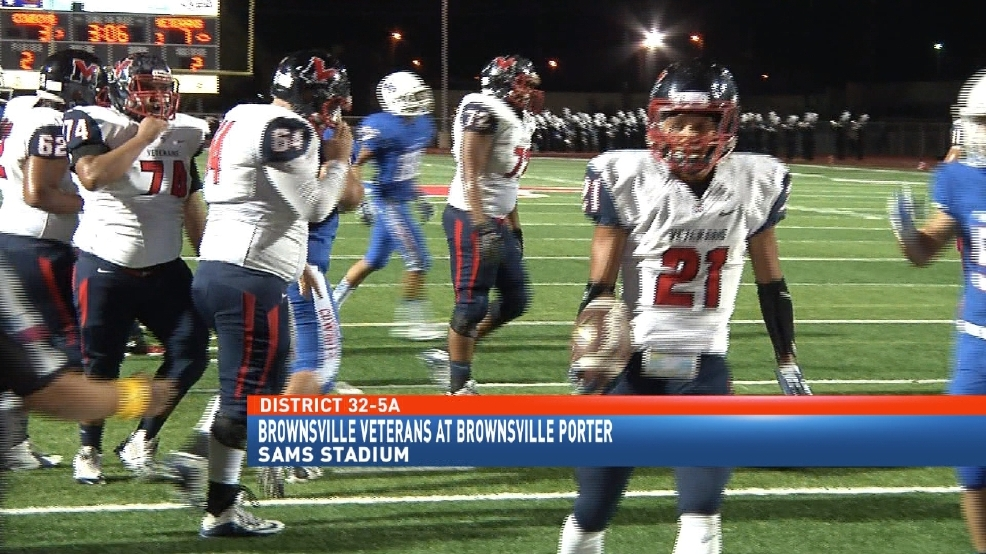 Brownsville Veterans Breaks Through Porter Defense