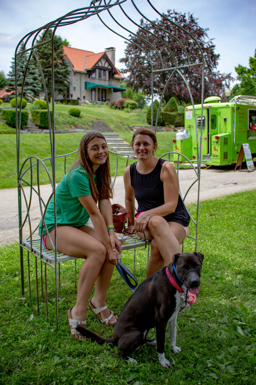 Paige, Meredith, and Rosie{ }/ Image: Katie Robinson, Cincinnati Refined // Published: 6.24.19