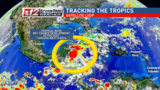 Gulf disturbance has 80% chance of tropical development
