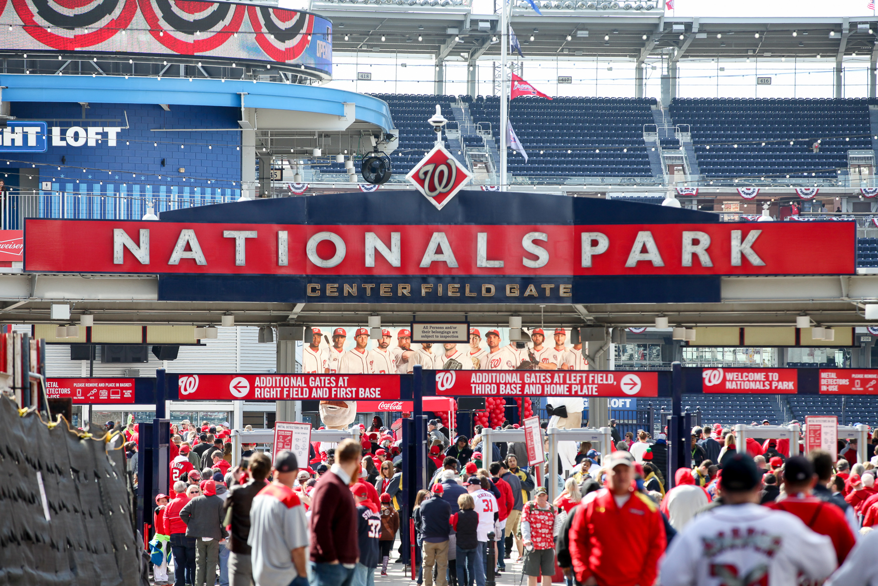 Baseball is officially back, baby! After an opening day loss, the Nats are ready to redeem themselves against the Mets for the first Saturday game of the season, with Strasburg on the mound. (Image: Amanda Andrade-Rhoades/ DC Refined)