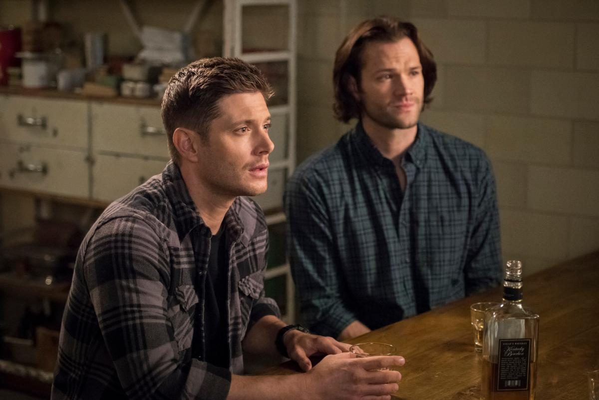"Supernatural -- ""Lebanon"" -- Image Number: SN1413C_0112b.jpg -- Pictured (L-R): Jensen Ackles as Dean and Jared Padalecki as Sam -- Photo: Dean Buscher/The CW -- �© 2019 The CW Network, LLC. All Rights Reserved."