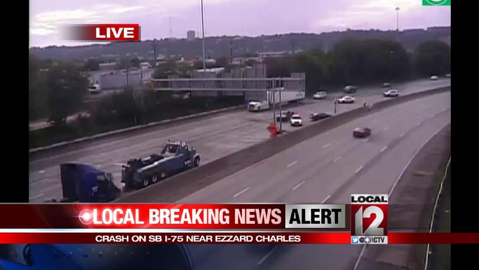 Crash on I-75 snarls traffic near Ezzard Charles | WKRC