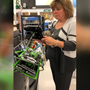 WATCH: Woman pays for stranger's full cart of groceries